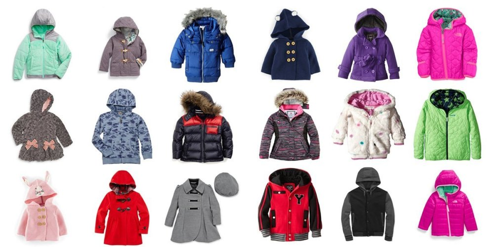 Collage of coats for Fall and Winter