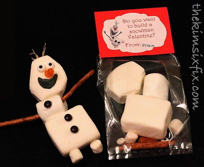 Olaf Valentine kit