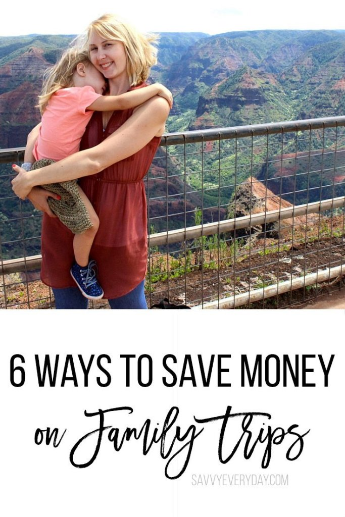 6 cool ways to save money on family trips