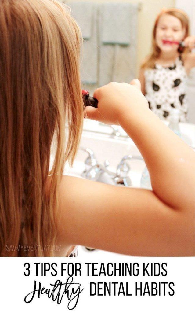 3 tips for teaching kids healthy dental habits