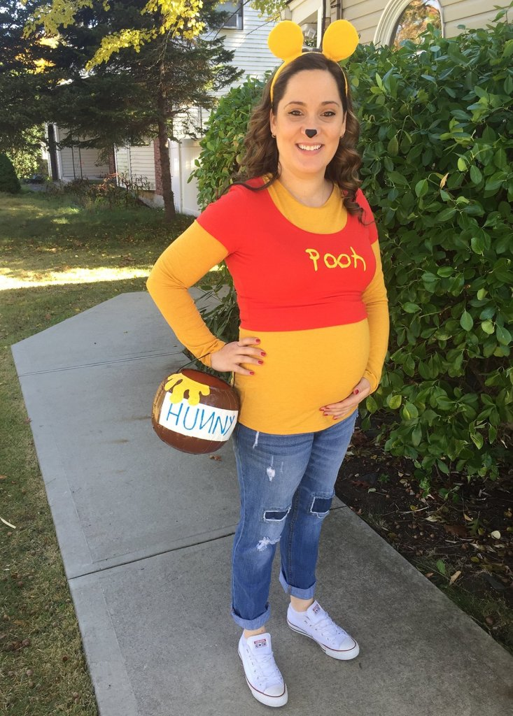 winnie the pooh pregnancy costume