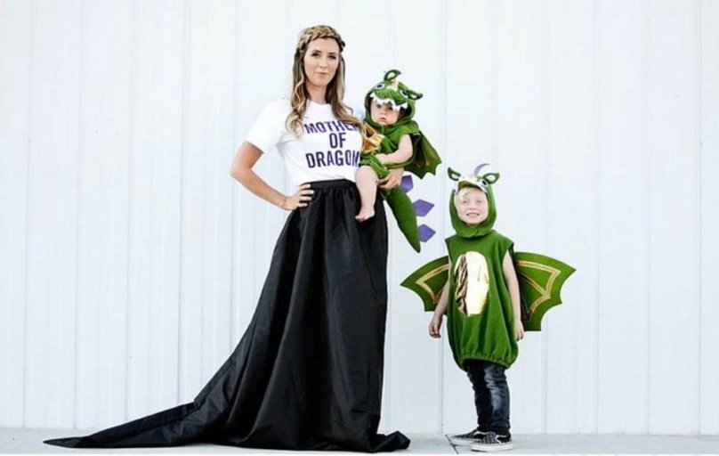 Mother of Dragons Halloween Costume