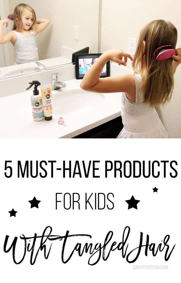5 Must-Have Products For Kids With Tangled Hair