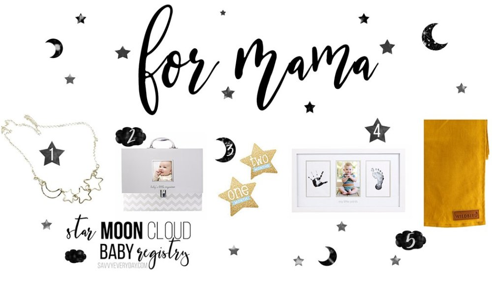 Star baby Registry for mama