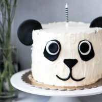A Gorgeous Last-Minute Panda First Birthday Party