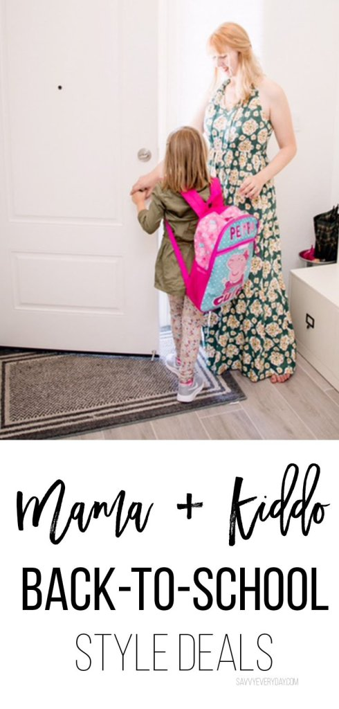 Mama and Kiddo Back to School Deals