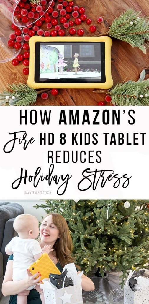How Amazon's Fire HD 8 Kids Tablet Reduces Holiday Stress