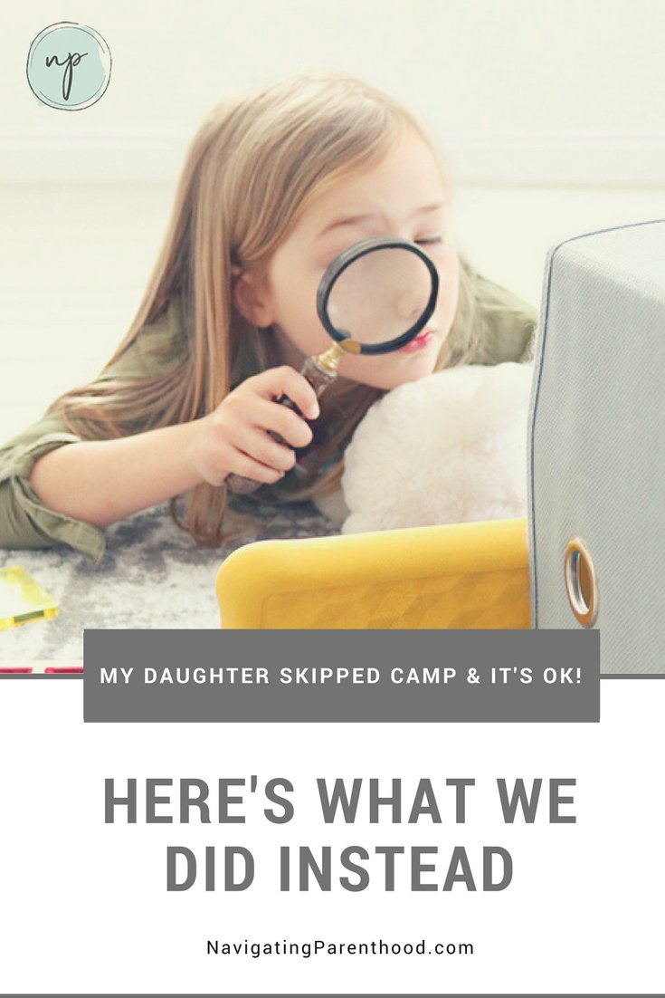 (Sponsored) I was a little worried about not sending my daughter to Spring camp at first, but now I'm so glad I didn't! Keep reading for why and what we did instead.