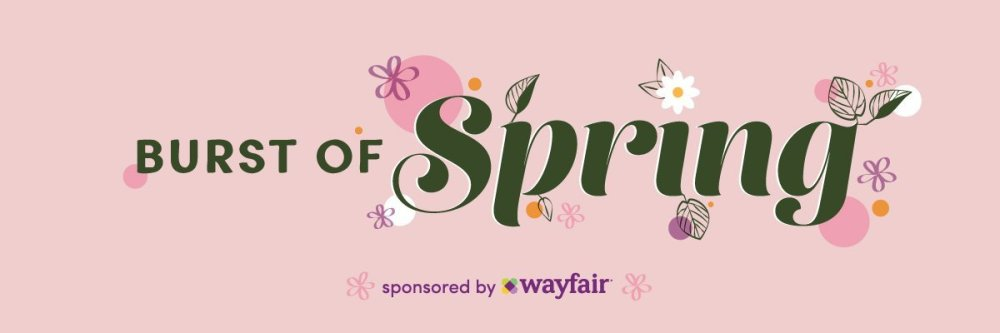 Burst of Spring Sponsored Banner