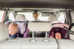 kids sitting in cx-9