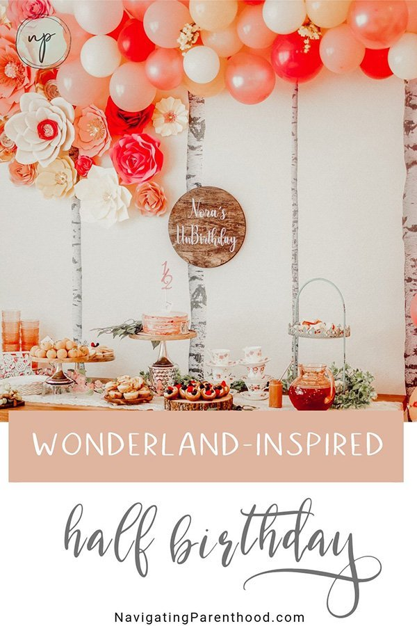 Wonderland-Inspired Half Birthday