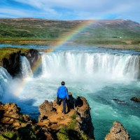 7 Unchanging Attributes of God | Bible Study Resource | The Godafoss (Icelandic: waterfall of the gods) is a famous waterfall in Iceland. The breathtaking landscape of Godafoss waterfall attracts tourist to visit the Northeastern Region of Iceland.