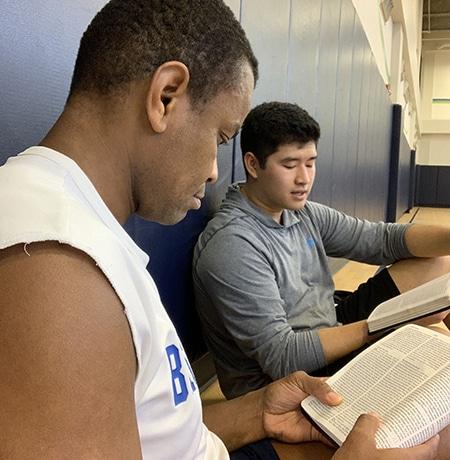 Gospel Sweet Spot | The Navigators Collegiate Ministry | Jason (left) and Justin.