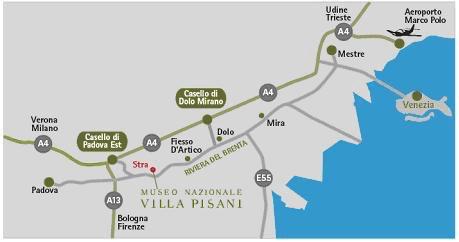 Itinerario Riviera del Brenta