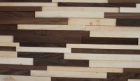 Solid Wood Panel----Black walnut&maple | Navilla Wall Panel