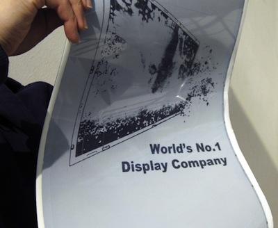 LG inicia producción de e-Ink flexible