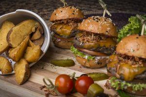 Beef sliders burgers