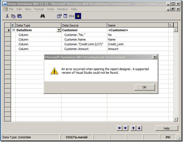 NAV 2013 R2 Report layout design with Report Builder (2/5)