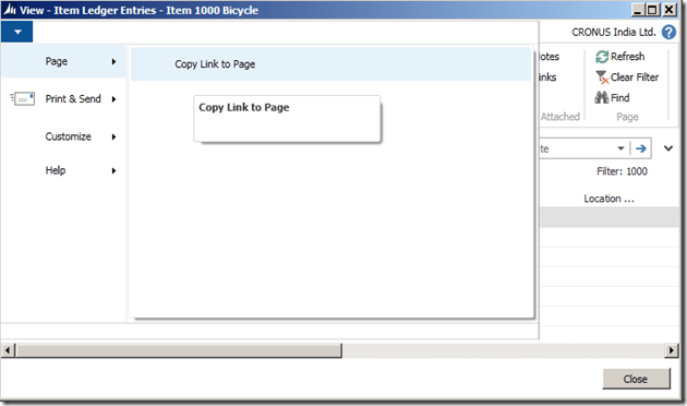 Interactive Reports in NAV 2013 R2–Drill Down (4/6)