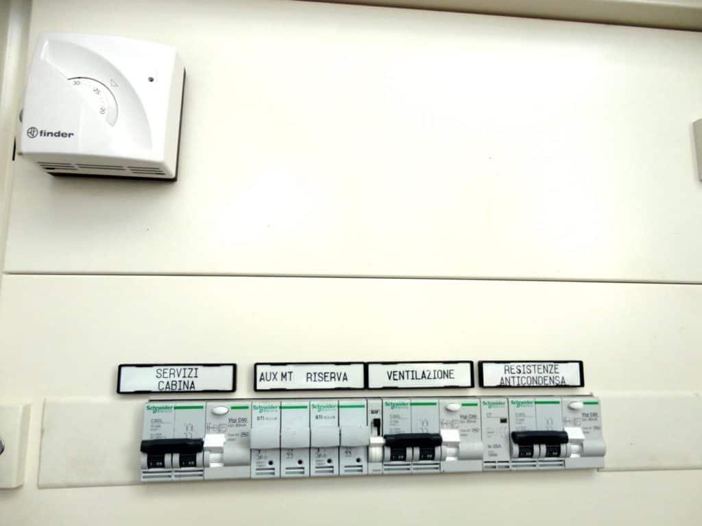 automazione industriale - centralino elettrico
