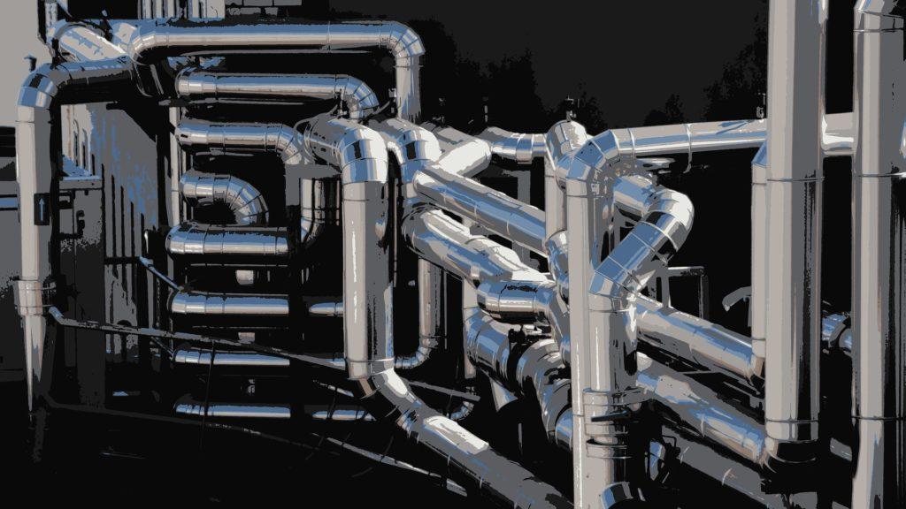 tubo di ventilazione condotti d'aria