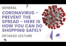 Coronavirus – Prevent the Spread  – Here is how you can do shopping safely