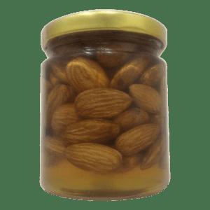 Honey with Almonds
