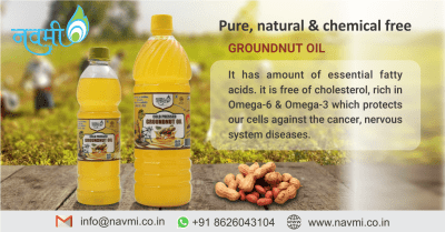 benefits of Groundnut oil