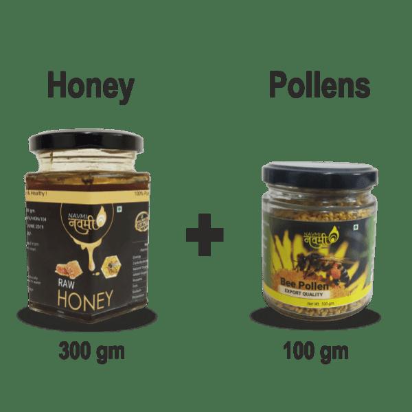 Honey and Pollen