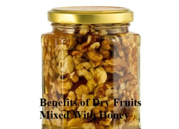 Benefits of Dry Fruits Mixed With Honey