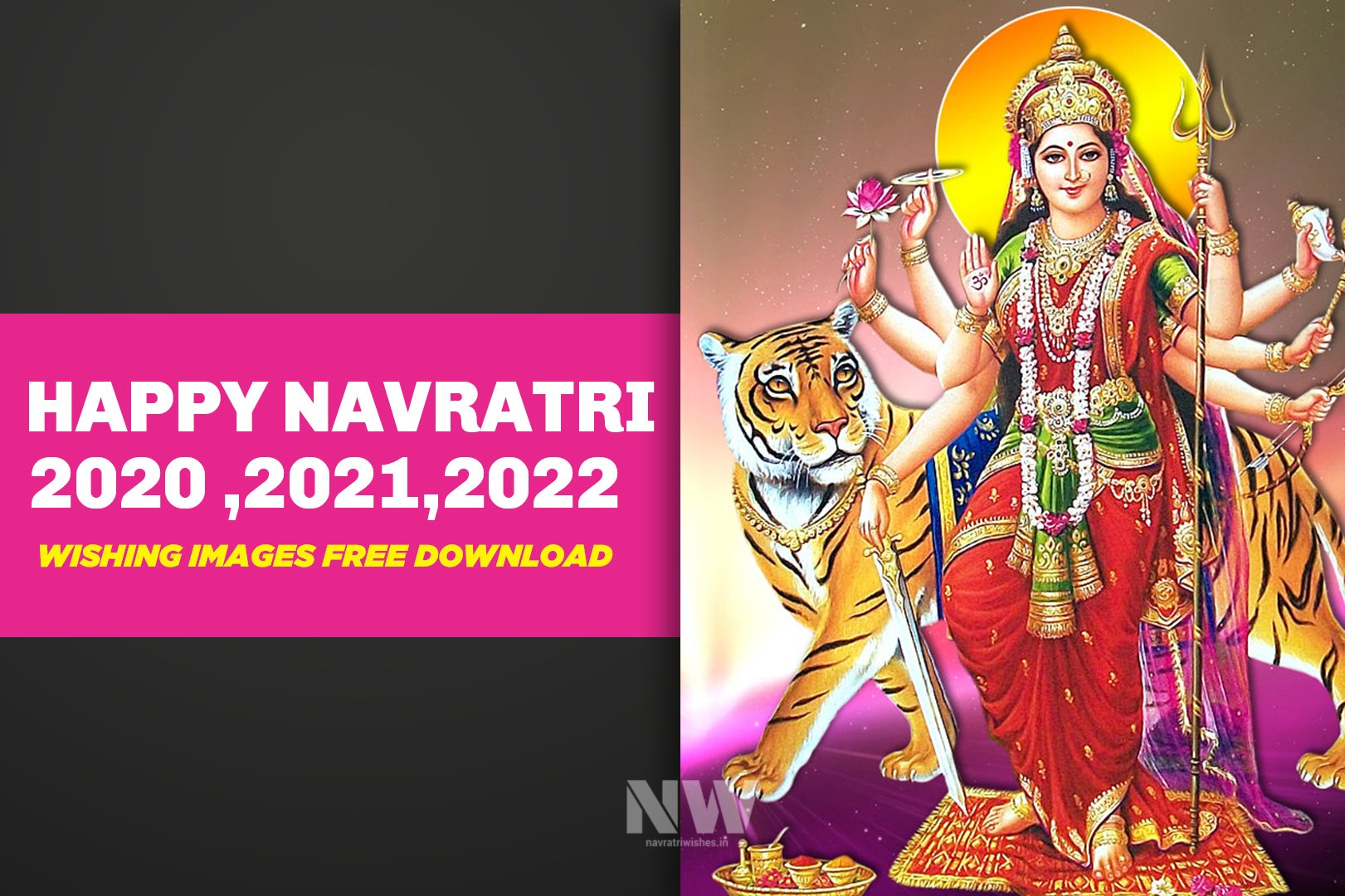 Happy Navratri 2020-2021-2022 Wishing Images free download