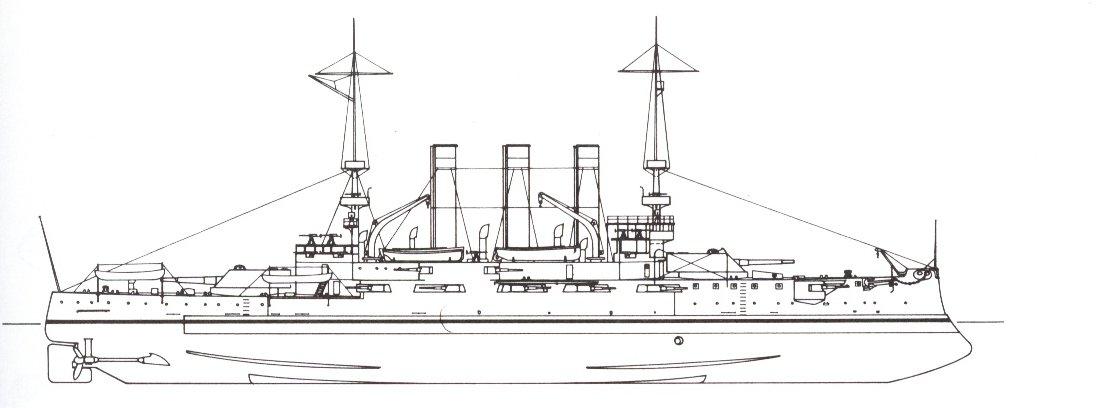 Battleship Photo Index BB-11 USS MISSOURI