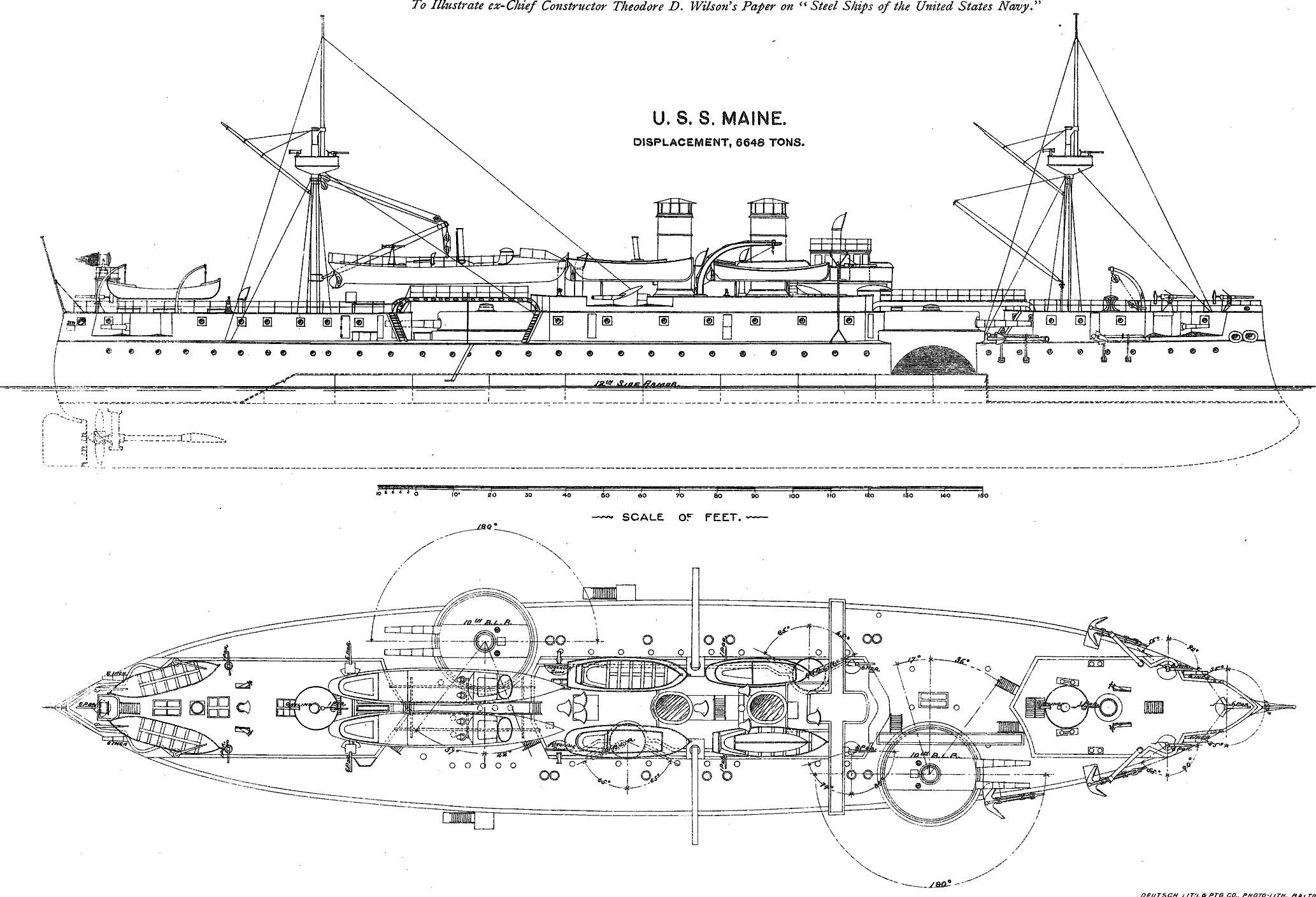 uss monitor diagram 2006 chrysler sebring fuse box schematic drawing of the maine get free image