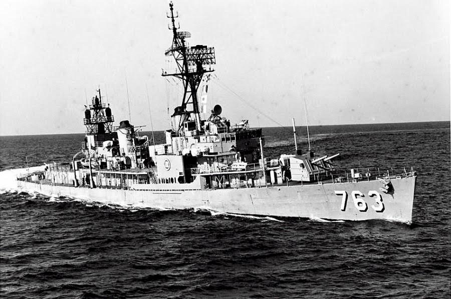 Destroyer Photo Index DD-763 USS WILLIAM C. LAWE