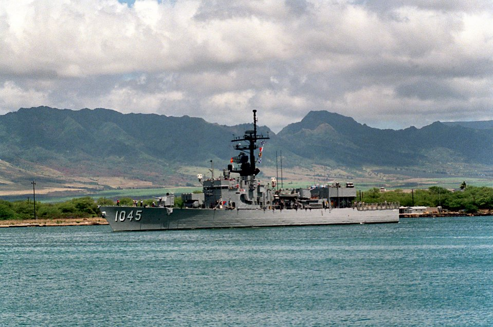 Destroyer Escort Photo Index DE1045 USS DAVIDSON