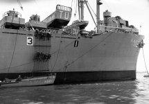 Amphibious Cargo Ship Aka Lka-112 Tulare
