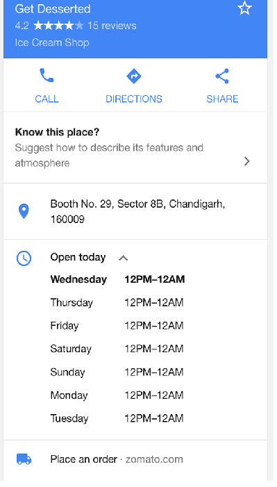local business hours