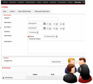 Suite CRM customer relationship management software.