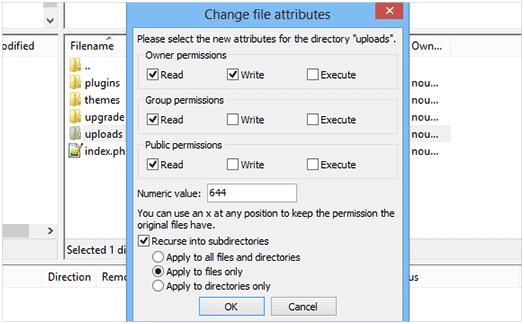 how to fix wordpress error uploading images