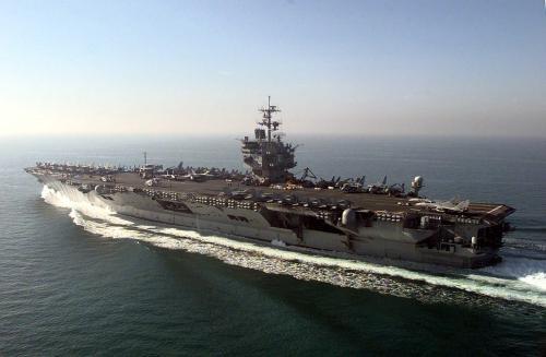 Aircraft carrier USS Enterprise (CVN 65)