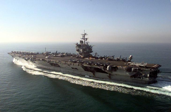 Aircraft carrier USS Enterprise (CVN 65)