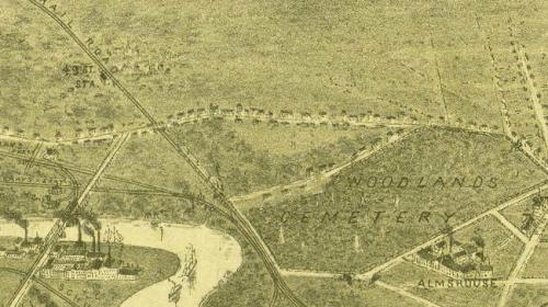 Perspective of Philadelphia (Burke & McFetridge, 1886)