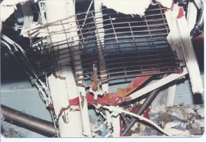 Engineroom damage