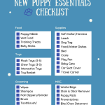 The Ultimate New Puppy Essentials Checklist Navy Corgi