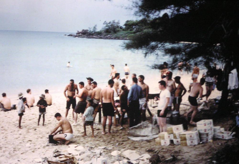 Uss Jamestown Agtr 3 1967 1968 An Thoi Vietnam From