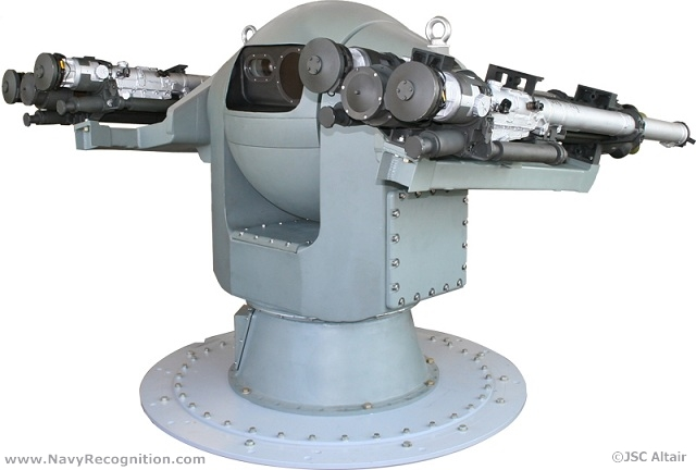GHIBKA 3M-47 (3M47 Gibka) Turret Mount is intended for guidance and remote automated launching of IGLA type missiles to provide protection of surface ships with displacement of 200 tons and over against attacks of anti-ship missiles, aircraft and helicopters in close-in area.
