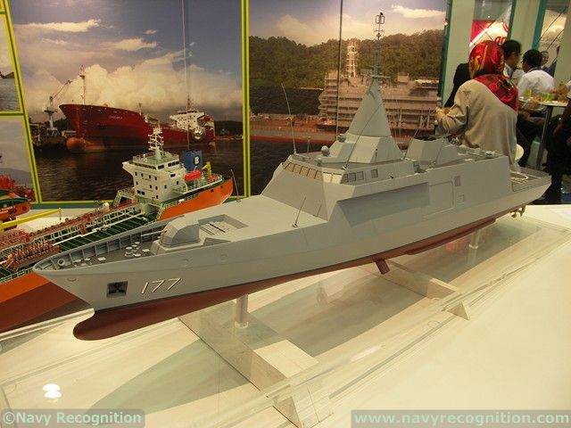 Navy Recognition team who was attending the DSA 2012 Defense exhibition in Kuala Lumpur, Malaysia was able to gather fresh information regarding the future Gowind corvettes of the Royal Malaysian Navy. While the negotiations are still ongoing, signature of the contract should happen soon according to an official from Boustead. The same person gave us an updated list of systems that will likely be found on those new corvettes.