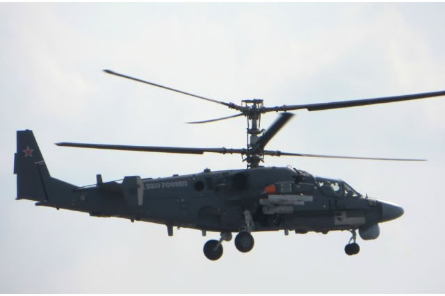 Kamov design bureau (a subsidiary of the Russian Helicopters holding) started the preliminary trials of Ka-52K Kaiman (NATO reporting name: Hokum-B) marinized attack-reconnaissance helicopter last year, according to the company`s 2015 annual report.