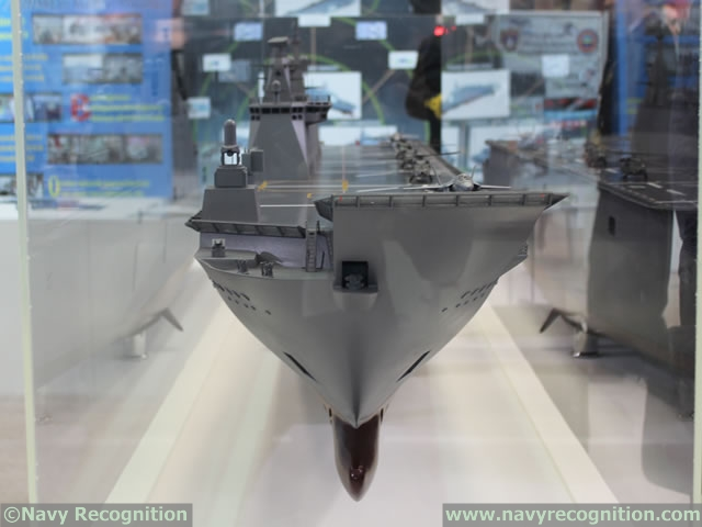 """Turkey began the construction of its first LHD / amphibious assault ship on Saturday, April 30th. The first steel cut ceremony was held at SEDEF shipyard in Tuzlay Bay close to Istanbul. During the ceremony President of Turkish Republic Recep Tayyip Erdogan declared that """"TCG Anadolu will be the first ship in the navy from which F-35B SVTOL planes will operate""""."""