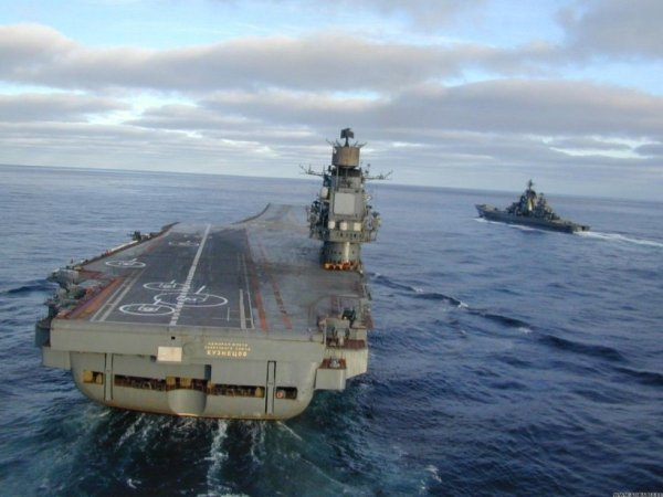 Russian aircraft carrier Admiral Kuznetsov gets automatic